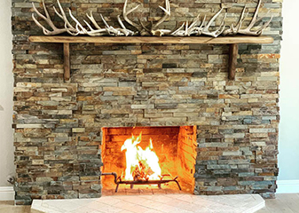 Fireplace projects by Gillespie's Abbey Carpet & Floor